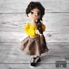 Crochet doll 💛😄 #sishomemd Crochet Hats, Dolls, Fashion, Knitting Hats, Baby Dolls, Moda, Fashion Styles, Puppet, Doll