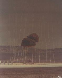Able nuclear test, Nevada Test Site, 27 January 1951