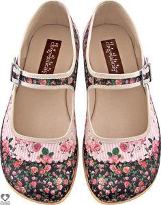 Hot Chocolate Shoes - Pandora Flats - Buy Online Australia Beserk Size 7
