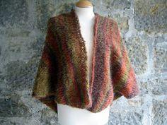 The Sunroom UK: Autumn Comfort Prayer Shawl Knitted - Easy