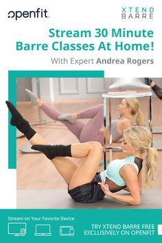 Lift your Booty, chisel your Abs, sculpt your Arms, and reshape your entire Body ALL with Xtend Barre. *No barre required! Awesome Lower Body Workout For Beginners Wellness Fitness, Fitness Tips, Fitness Motivation, Health Fitness, Wellness Tips, Barre Workout, Abs Workout For Women, Ballet, Get In Shape