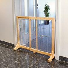 Found it at Wayfair - Free Standing Barrier with Walk-Thru Pet Door Dog Gate