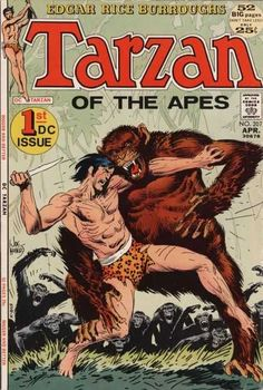 Tarzan of the Apes #207 (April 1972). First DC, Joe Kubert)