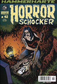 Cover for Horrorschocker (Weissblech Comics, 2004 series) #42 März 2016