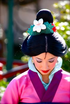 Mulan at Disneyland Disney And More, Disney Love, Disney Magic, Disney Stuff, Walt Disney World, Disney Pixar, Punk Disney, Disney Facts, Disney Face Characters