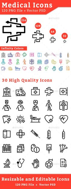 Medical Icons #design Buy Now: http://graphicriver.net/item/medical-icons/12836834?ref=ksioks