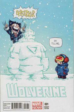 Wolverine vol. 5 #1c Skottie Young Variant Baby