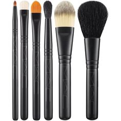 Mac Look In A Box Brush Kit/Basic MAC Cosmetics Official Site (235 BRL) ❤ liked on Polyvore featuring beauty products, makeup, mac cosmetics kit, mac cosmetics makeup and mac cosmetics