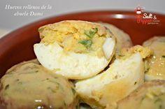 Huevos rellenos de la abuela Dami