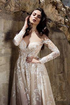 FIDELIA wedding dress at Charmé Gaby Bridal Gown boutique in Clearwater FL www.charmegaby.com