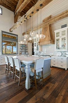 Contemporary Home Decorating Ideas Cool Rustic Ceiling Design Ideas Kitchen.Contemporary Home Decorating Ideas Cool Rustic Ceiling Design Ideas Kitchen Home Decor Kitchen, Home Kitchens, Space Kitchen, Kitchen Sinks, Design Kitchen, Kitchen Ideas, Barn Kitchen, Kitchen Modern, Kitchen Layout
