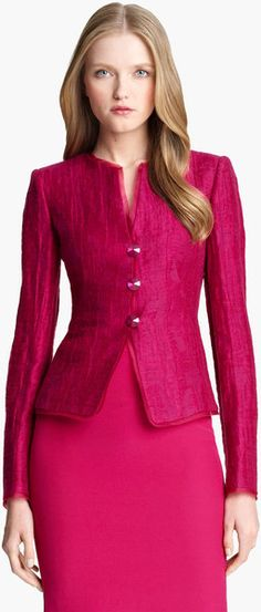 ARMANI Jewel Button Jacket