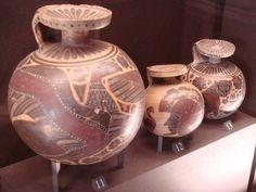 Ariballi globulari, collezione Campana. Museo del Louvre, Parigi.