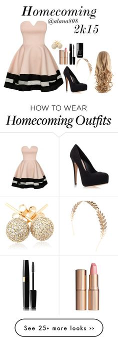 """""""Homecoming 2k15"""" by alana808 on Polyvore featuring Carvela Kurt Geiger, Wet Seal, Charlotte Tilbury, Chanel and Loushelou"""