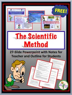 Classroom Freebies: Scientific Method PowerPoint and Notes