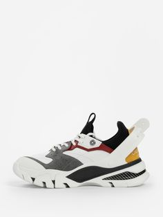 K0007 whitegreyred 7719 Sneakers Multicolor, Footwear Shoes, Footprint, White Lace, Black Laces, Calvin Klein, Street Wear, Kicks, Sole