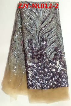 (5yards/lot)Tissu Africain beige&black Lace Fabric African Party Dress Lace Embroidered Tulle Fabric For Nigerian Clothes