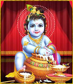 Bal Krishna Makhan Chor Wallpaper free desktop backgrounds and Krishna Lila, Little Krishna, Krishna Statue, Radha Krishna Images, Cute Krishna, Lord Krishna Images, Krishna Radha, Krishna Pictures, Krishna Drawing