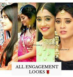 Shivangi Joshi Instagram, Kartik And Naira, Kaira Yrkkh, Indian Drama, Mohsin Khan, Romantic Pictures, Bride Look, Indian Girls, Girl Photography