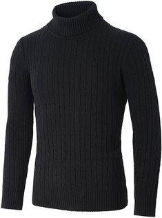 Mens Cable Knit Sweater, Mens Turtleneck, Black Turtleneck, Men Sweater, Thick Sweaters, Flower Shirt, My Jeans, Henley Shirts, How To Look Classy