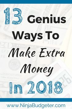 2018 could be your best financial year yet. Do you want to make more money this year? Check out these actionable strategies to bring in more income in 2018.