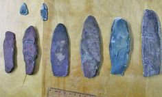 Artifacts in northern Quebec could be 7,000 years old A Quebec archaeological team will begin its work at an extraordinary site this week, as it explores a settlement that could be as old as the invention of the wheel.   Archaeologists believe the stone relics were made using a grinding technique, different than later techniques of chipping [Credit: Waskaganish Cultural Institute/Facebook]