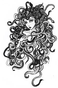 Medusa by koffinkandy on deviantART