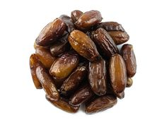 Hi we are deglet dates, we have a beautiful dark amber colour and we are absolutely delicious. In contrast with Medjool dates we are not as soft but our flesh is rather firm. We are beautifully sticky and our pit is gone so you can snack on us without thinking!   #dates #deglet #snack #vegan #svetplodu Medjool Dates, Amber Color, Dried Fruit, Sugar Free, Almond, Contrast, Gluten Free, Dating, Snacks