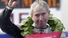 Northern Ireland road racing legend Joey Dunlop died in but remains an iconic figure in world motorsport. Robert Dunlop, William Dunlop, Last Night On Earth, Hard Men, Isle Of Man, Sports Stars, Road Racing, Northern Ireland, Grand Prix