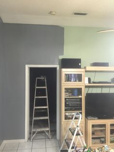 """Typical of the wife let's just paint...! """"Just paint really""""? That was my only reply because deep down inside I knew this would lead to none stop remodeling around the house. Let me tell you once you start by one section of the house the momentum gets going fast."""
