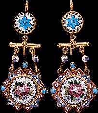Gioielli del XVIIII secolo - Earrings