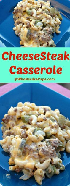CheeseSteak Casserole is amazing comfort food and an awesome dinner. A must pin everyone will gobble it up!