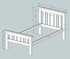 Loft Bed Plans Free Twin Easy Diy Projects