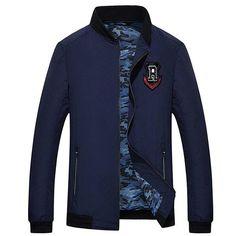 Autumn Thin Bomber Jacket Men Stand Collar Print Feather Crane Baseball Jackets Men Casual Coats
