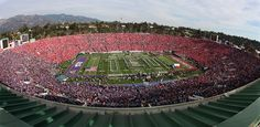 The Rose Bowl now qualifies as one of my favorite places.  Go Frogs!