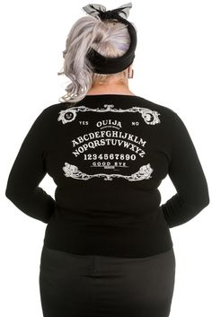 Domino Dollhouse - Plus Size Clothing: Ouija Cardigan.  Love this.  My size is sold out, sadly.