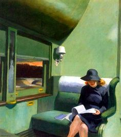 Edward Hopper, Compartment C - Car 293, 1938