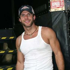 Billy Currington - he's kind of a geek,. but I admit there's something about him *slurp!*