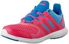 buy popular 65373 6cc39 adidas Performance Hyperfast K Running Shoe (Little Kid Big Kid),Shock  Blue Shock Pink Bold M US Big Kid