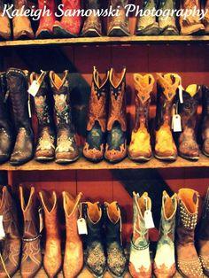 Golden, Colorado- LOVE cowboy boots :)