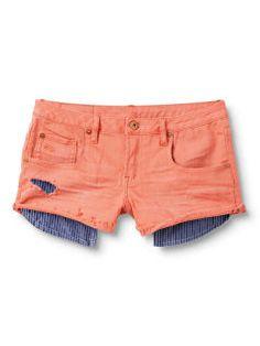 Breezer Beachy Deep Coral Shorts - Quiksilver