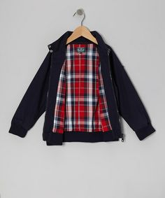 Another great find on #zulily! Navy Twill Jacket - Infant, Toddler & Boys by Woolrich #zulilyfinds