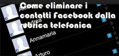 UNIVERSO NOKIA: Come eliminare i contatti Facebook dalla rubrica t...