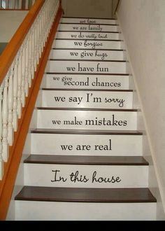 inspiration for the stairs