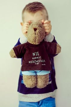 Baby Style, Onesies, Teddy Bear, New York, Kids, Photography, Animals, Clothes, Young Children