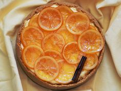 Orange Blossom Cheesecake... simply scrumptious