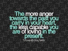 let go of the past so you can grab onto the future :)
