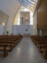Eglise du Jubilée - Rome - Architecte: Richard Meier - Consacrée en 2003  Chiesa Dio Padre Misericordioso - Roma