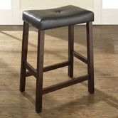 """Found it at Wayfair - 24"""" Bar Stool. on sale $61 for 2. finishes, black, cherry, mahogany."""