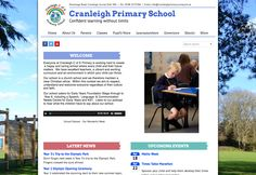 Going Live! Congratulations to Cranleigh Primary on their new #schoolwebsite